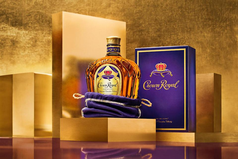 """<p>Treat dad like the king he is and give him what he really wants: a nice bottle of Crown Royal Deluxe and a couple of blissfully uninterrupted hours to watch his action film of choice.</p>   <p><strong>Buy It! </strong>Crown Royal Deluxe, <a href=""""https://www.crownroyal.com/where-to-buy/"""" rel=""""nofollow noopener"""" target=""""_blank"""" data-ylk=""""slk:crownroyal.com"""" class=""""link rapid-noclick-resp"""">crownroyal.com</a> </p>"""