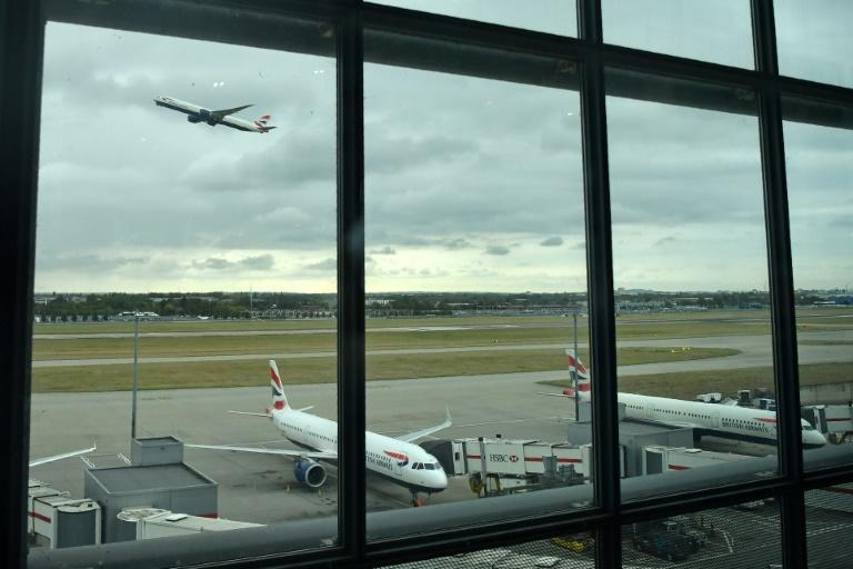 Heathrow rules stipulate that it must temporarily close should a drone be spotted within its five-kilometre (three-mile) exclusion zone (AFP Photo/Ben STANSALL)