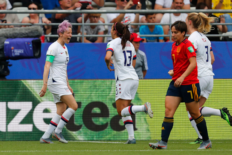 Women's World Cup: USA Score Off Two Penalties to Beat Spain, Set Up Quarter-final vs Hosts France