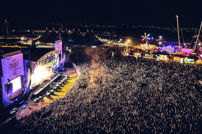 Cancelled: Organisers have pulled the plug on this year's Boardmasters festival - just hours before it was set to open (EPA)