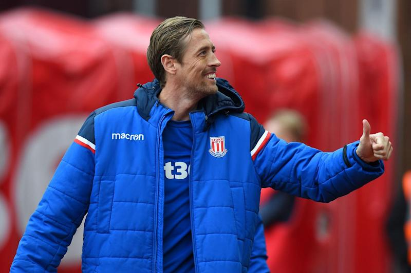 One-liners: Joker Peter Crouch keeps his followers and fans entertained: Tony Marshall/Getty Images