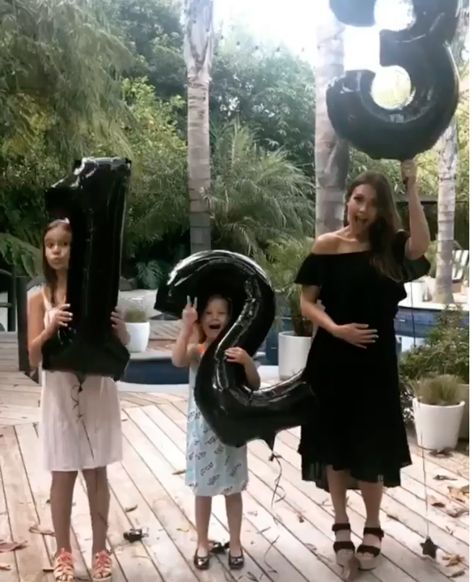 Jessica announced her pregnancy back in July with a cute Instagram boomerang. Photo: Instagram