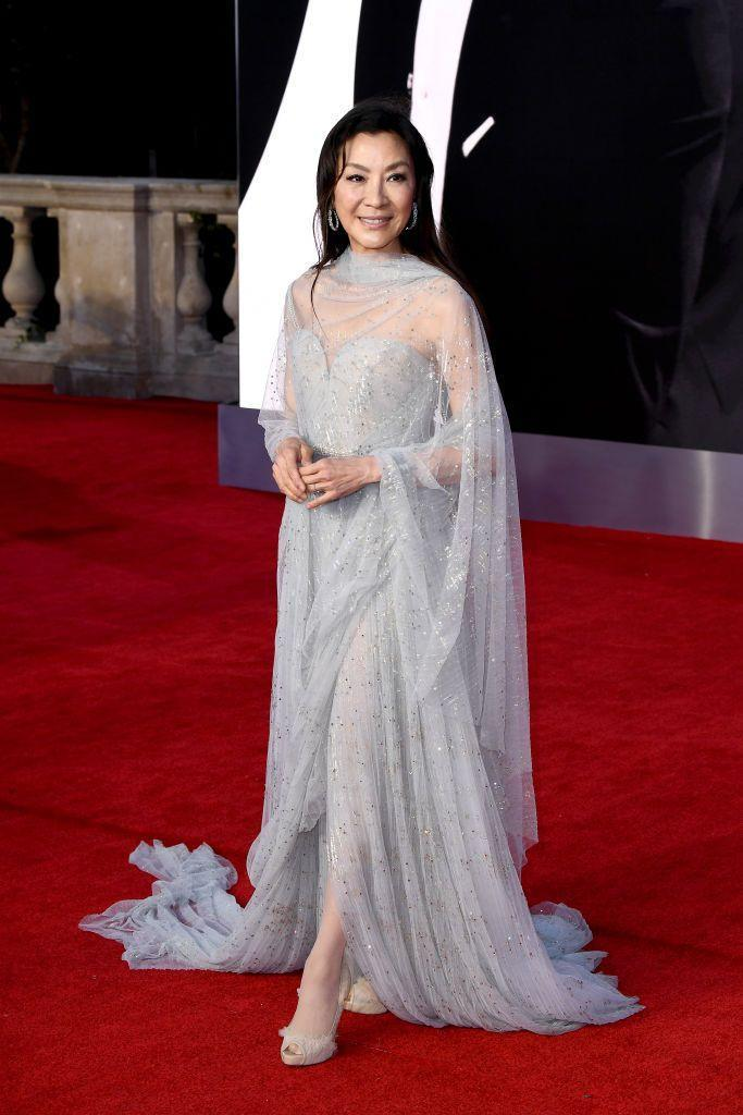 <p>Yeoh opted for Elie Saab. </p>