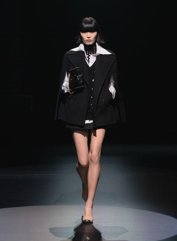 <p>A look from the Valentino Fall 2021 collection. Photo: Courtesy of Valentino</p>
