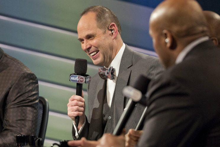 """Ernie Johnson is best known for his role on """"Inside the NBA.""""<br>(Credit: Turner Sports)"""