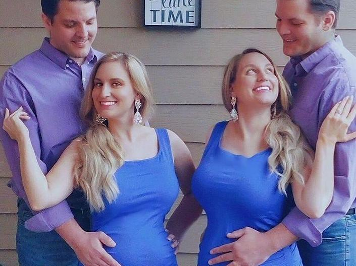 Brittany and Briana are identical twin sisters who married identical twin brothers.