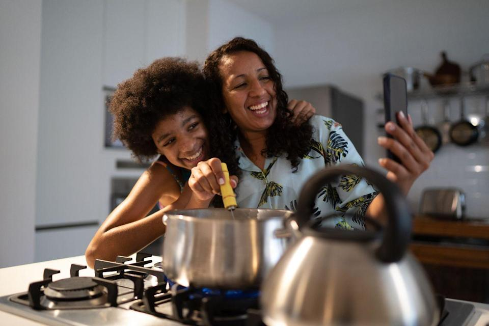 """<p>Make an elaborate meal for mom by attending a <a href=""""https://www.goodhousekeeping.com/life/g32291613/best-online-cooking-courses/"""" rel=""""nofollow noopener"""" target=""""_blank"""" data-ylk=""""slk:virtual cooking class"""" class=""""link rapid-noclick-resp"""">virtual cooking class</a>. Mom can either get in on the fun, or she can enjoy the cooking shenanigans from the comfort of the couch. There are a number of virtual cooking classes available — start by checking out <a href=""""https://go.redirectingat.com?id=74968X1596630&url=https%3A%2F%2Fwww.masterclass.com%2Fsitemap%2Fcategories%2Fculinary-arts&sref=https%3A%2F%2Fwww.womansday.com%2Flife%2Fg35938299%2Fquarantine-mothers-day-ideas%2F"""" rel=""""nofollow noopener"""" target=""""_blank"""" data-ylk=""""slk:MasterClass"""" class=""""link rapid-noclick-resp"""">MasterClass</a>, <a href=""""https://go.redirectingat.com?id=74968X1596630&url=https%3A%2F%2Fwww.craftsy.com%2Fcook%2Fcookclasses%2F&sref=https%3A%2F%2Fwww.womansday.com%2Flife%2Fg35938299%2Fquarantine-mothers-day-ideas%2F"""" rel=""""nofollow noopener"""" target=""""_blank"""" data-ylk=""""slk:Craftsy"""" class=""""link rapid-noclick-resp"""">Craftsy</a>, and <a href=""""https://go.redirectingat.com?id=74968X1596630&url=https%3A%2F%2Fwww.airbnb.com%2Fs%2Fexperiences%2Fonline&sref=https%3A%2F%2Fwww.womansday.com%2Flife%2Fg35938299%2Fquarantine-mothers-day-ideas%2F"""" rel=""""nofollow noopener"""" target=""""_blank"""" data-ylk=""""slk:Airbnb Online Experiences"""" class=""""link rapid-noclick-resp"""">Airbnb Online Experiences</a>.</p>"""