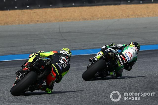 "Cal Crutchlow, Team LCR Honda, Andrea Iannone, Aprilia Racing Team Gresini <span class=""copyright"">Gold and Goose / Motorsport Images</span>"