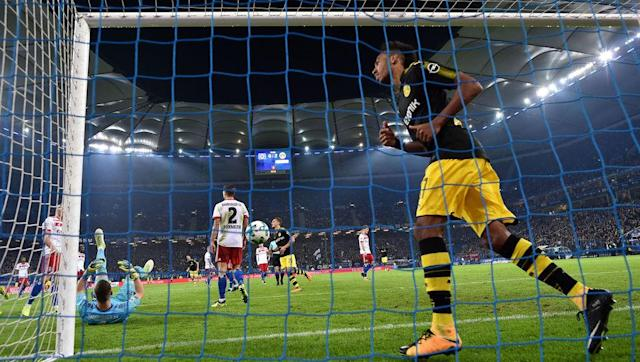 <p>After a summer spent treating the hearts of Chelsea and Liverpool fans as mere playthings with Instagram-based transfer teasing, the Gabonese goal-machine has returned to Bundesliga action with gusto, and has scored five goals in his opening five matches for Borussia Dortmund.</p> <br><p>Aubameyang has a knack for going on goalscoring runs, and he looks determined to put himself in the shop window again next summer with a season packed with glorious strikes.</p>