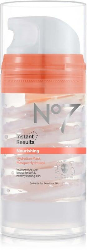 <p>This <span>No7 Instant Results Nourishing Hydration Mask</span> ($15) is infused with identical lipids, which instantly moisturizes and softens your skin.</p>