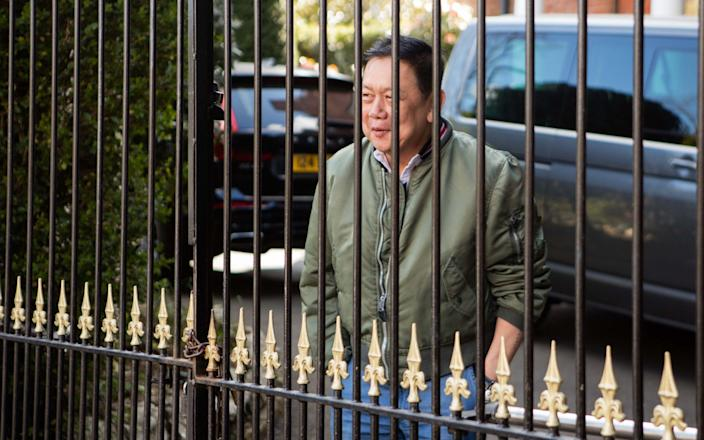 The Myanmar ambassador is facing eviction from the official London residence along with his family and remaining staff - Jamie Lorriman