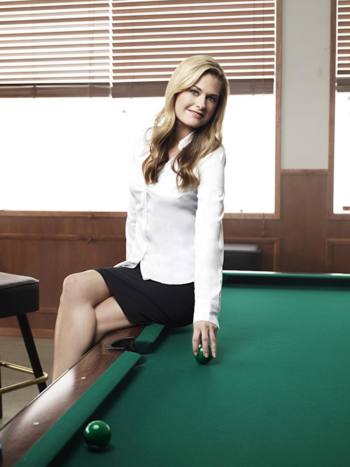 "Maggie Lawson as Juliet O'Hara in ""Psych."""
