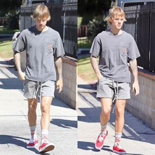 105f9b942 Celebrate Justin Bieber s 24th Birthday by Shopping His Sneaker ...