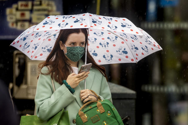 Face coverings are mandatory in shops from 24 July. (PA)