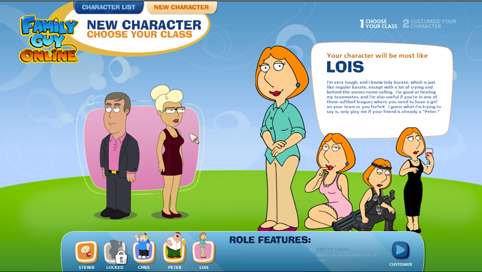 Family Guy Online Character Creator