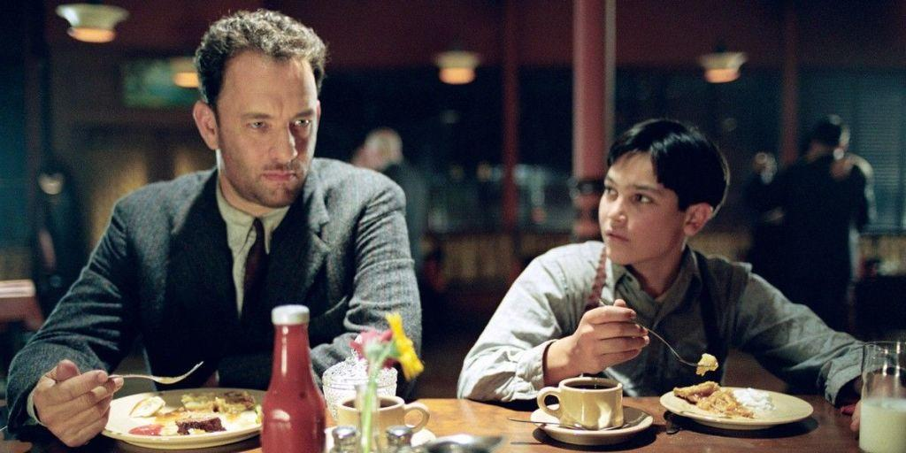 <p>He did play an evil 19th-century doctor, a nasty landlord and a London-Irish gangster in <em>Cloud Atlas</em>, but they were three small cameos among his <em>six</em> roles in the same film, so we're not counting them. The closest Hanks got to playing a proper villain was in 2002's <em>Road To Perdition </em>but we were all rooting for the mobster on the run.</p>