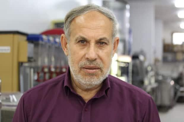 Abdul Raheem Abdul Malek, 67, owner of the Ramallah Company, a hotel and restaurant kitchen supply store in Gaza City, says his family was traumatized by the airstrikes near their home.