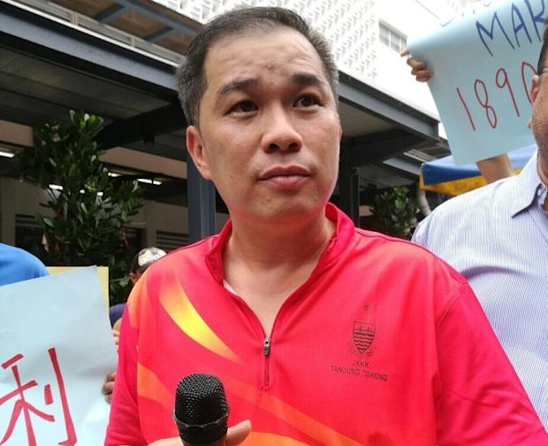 Lai Kong Hooi said the council decided to shift them without discussing it with the traders.