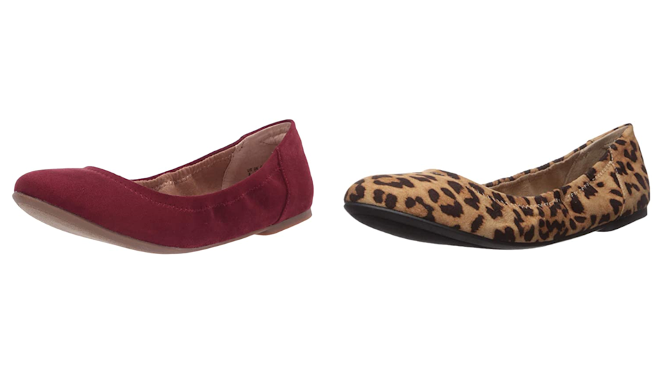 These classy ballet flats come in almost every color.