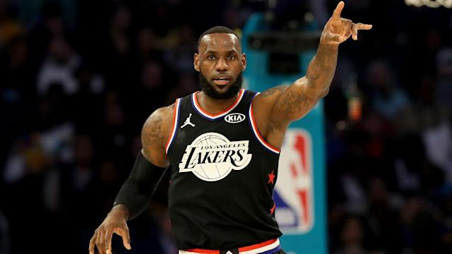 It's LeBron James' time to lead the Lakers. (AP)