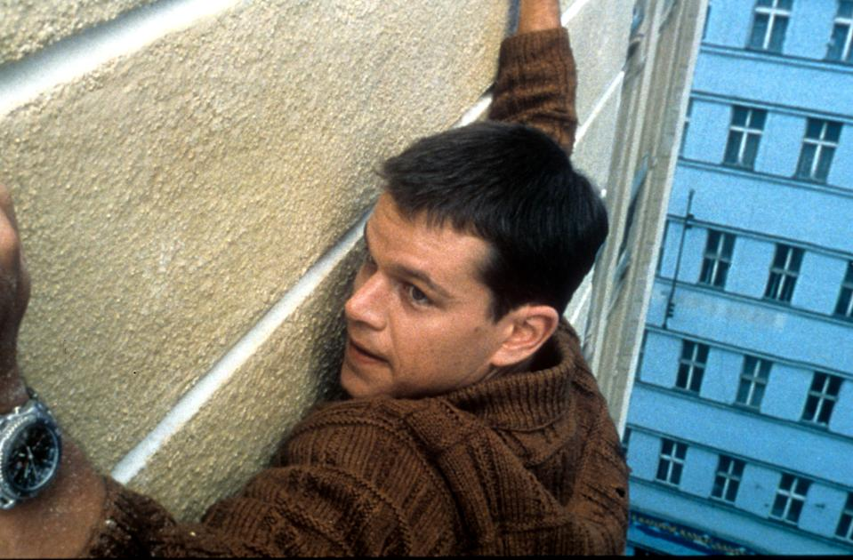 Matt Damon in a scene from the film 'The Bourne Identity', 2001. (Photo by Universal Pictures/Getty Images)