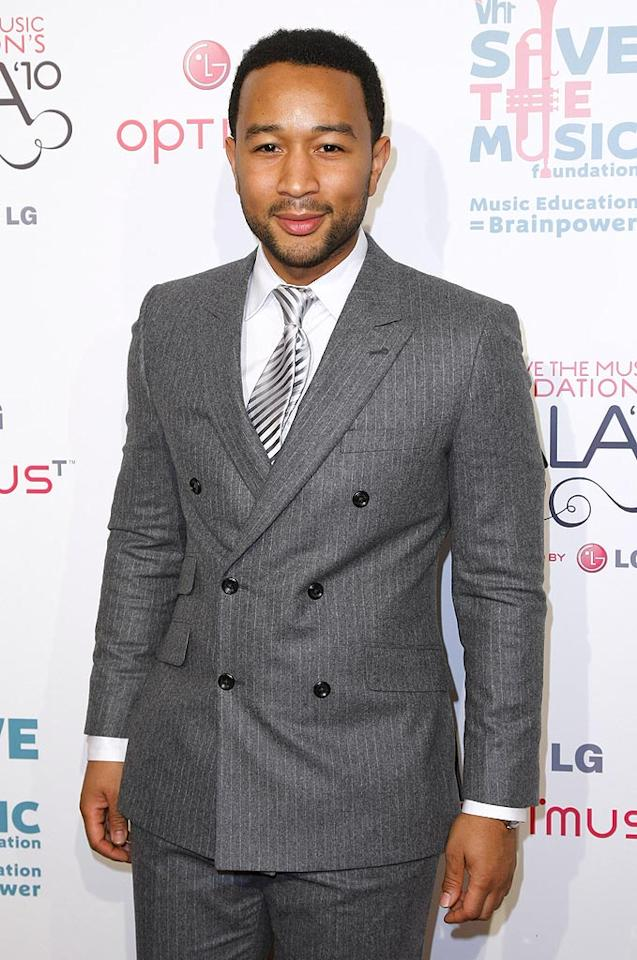"December 28: John Legend turns 32 Neilson Barnard/<a href=""http://www.gettyimages.com/"" target=""new"">GettyImages.com</a> - November 8, 2010"