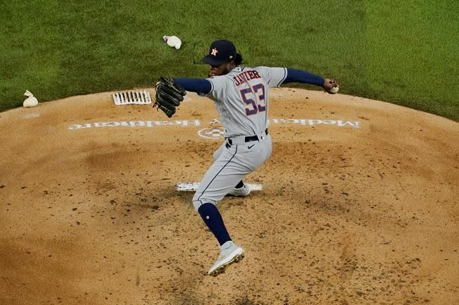 Astros magic number 1 for AL playoff spot after win at Texas
