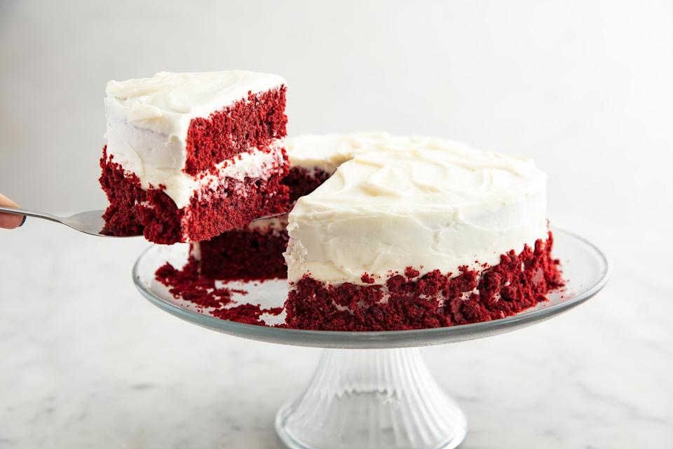 """<p>When your <a href=""""https://www.delish.com/holiday-recipes/christmas/g776/gingerbread-recipes/"""" rel=""""nofollow noopener"""" target=""""_blank"""" data-ylk=""""slk:gingerbread house"""" class=""""link rapid-noclick-resp"""">gingerbread house</a> has been constructed and your <a href=""""https://www.delish.com/holiday-recipes/christmas/g2177/easy-christmas-cookies/"""" rel=""""nofollow noopener"""" target=""""_blank"""" data-ylk=""""slk:Christmas cookies"""" class=""""link rapid-noclick-resp"""">Christmas cookies</a> have been baked, it's time to turn your attention to a Christmas cake. Try our amazing <a href=""""https://www.delish.com/holiday-recipes/christmas/g1137/christmas-cheesecake-recipes/"""" rel=""""nofollow noopener"""" target=""""_blank"""" data-ylk=""""slk:Christmas cheesecake recipes"""" class=""""link rapid-noclick-resp"""">Christmas cheesecake recipes</a>, too!</p>"""