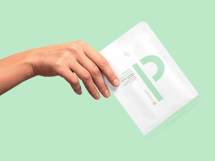 <p>ZitSticka branched out from acne patches with the launch of the <span>Press Refresh</span> ($36) - an exfoliating, acne-fight sheet mask.</p>