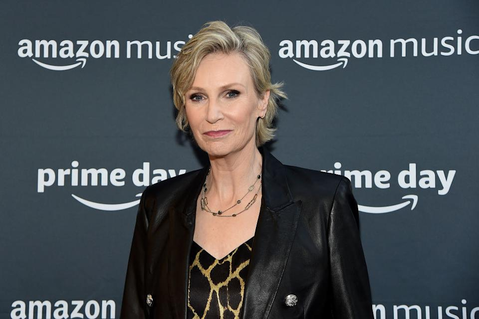 Jane Lynch attends the 2019 Amazon Prime Day Concert on July 10 in New York City. (Photo: Jamie McCarthy/Getty Images)