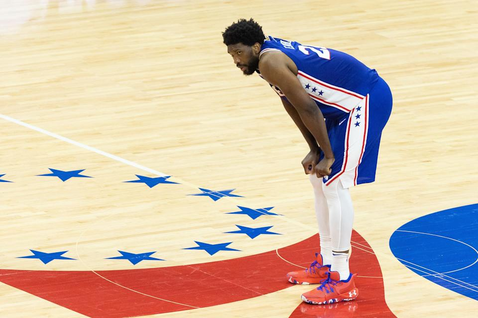 Joel Embiid scored a playoff career-high 40 points for the Sixers in their Game 2 win.