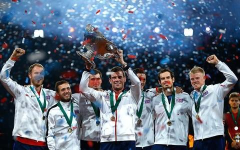 <span>The ITF will vote next week on the future of the Davis Cup</span> <span>Credit: GETTY IMAGES </span>