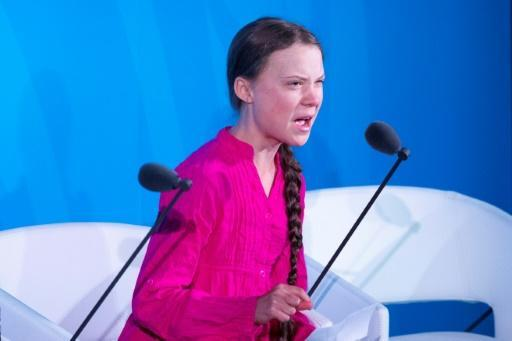 """""""How dare you?"""" Thunberg thundered. """"You have stolen my dreams and my childhood with your empty words"""""""