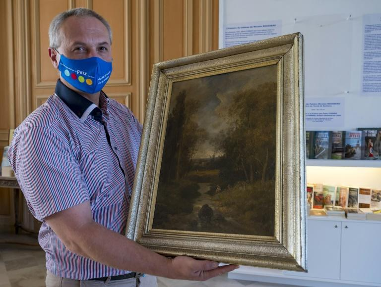 Nazi-looted French painting on display in search for rightful owner
