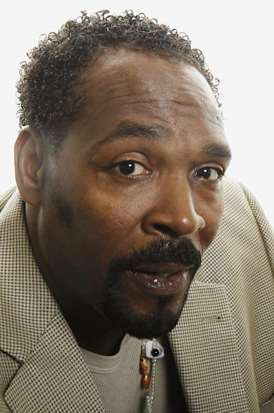 FILE - On April 13, 2012 file photo, Rodney King poses for a portrait in Los Angeles. Southern California police say King's death has been ruled an accidental drowning. The county medical examiner's report shows King had numerous drugs such as PCP, cocaine and marijuana in his system when he died in June. (AP Photo/Matt Sayles, File)