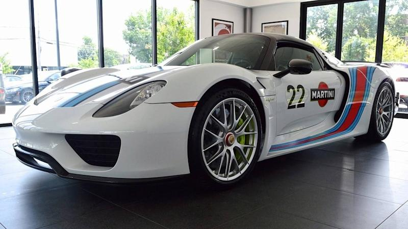 Take Home This 45 Mile Porsche 918 Weissach For A Cool 17
