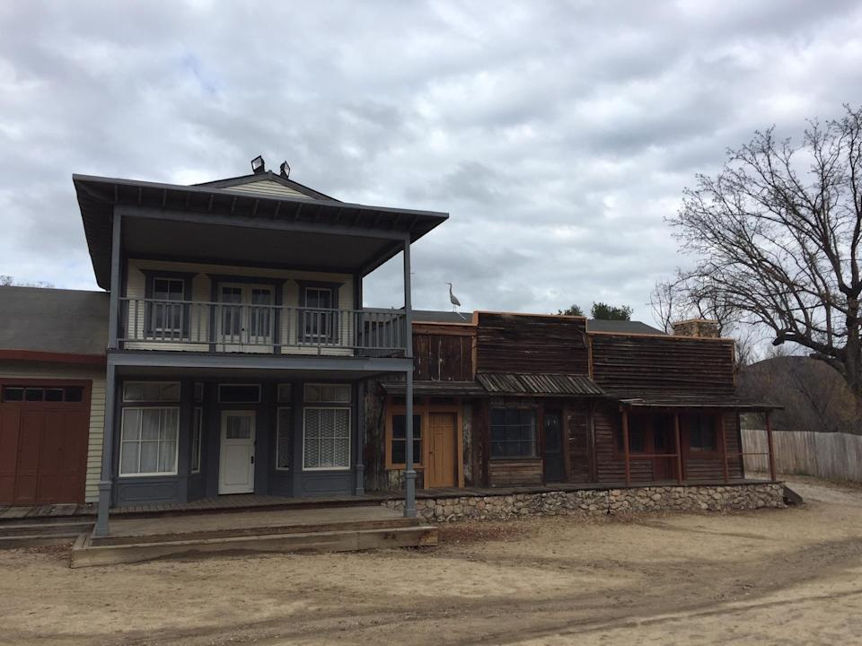 The Western Town at Paramount Ranch before the fire. (Photo: Marcus Errico/Yahoo Entertainment)