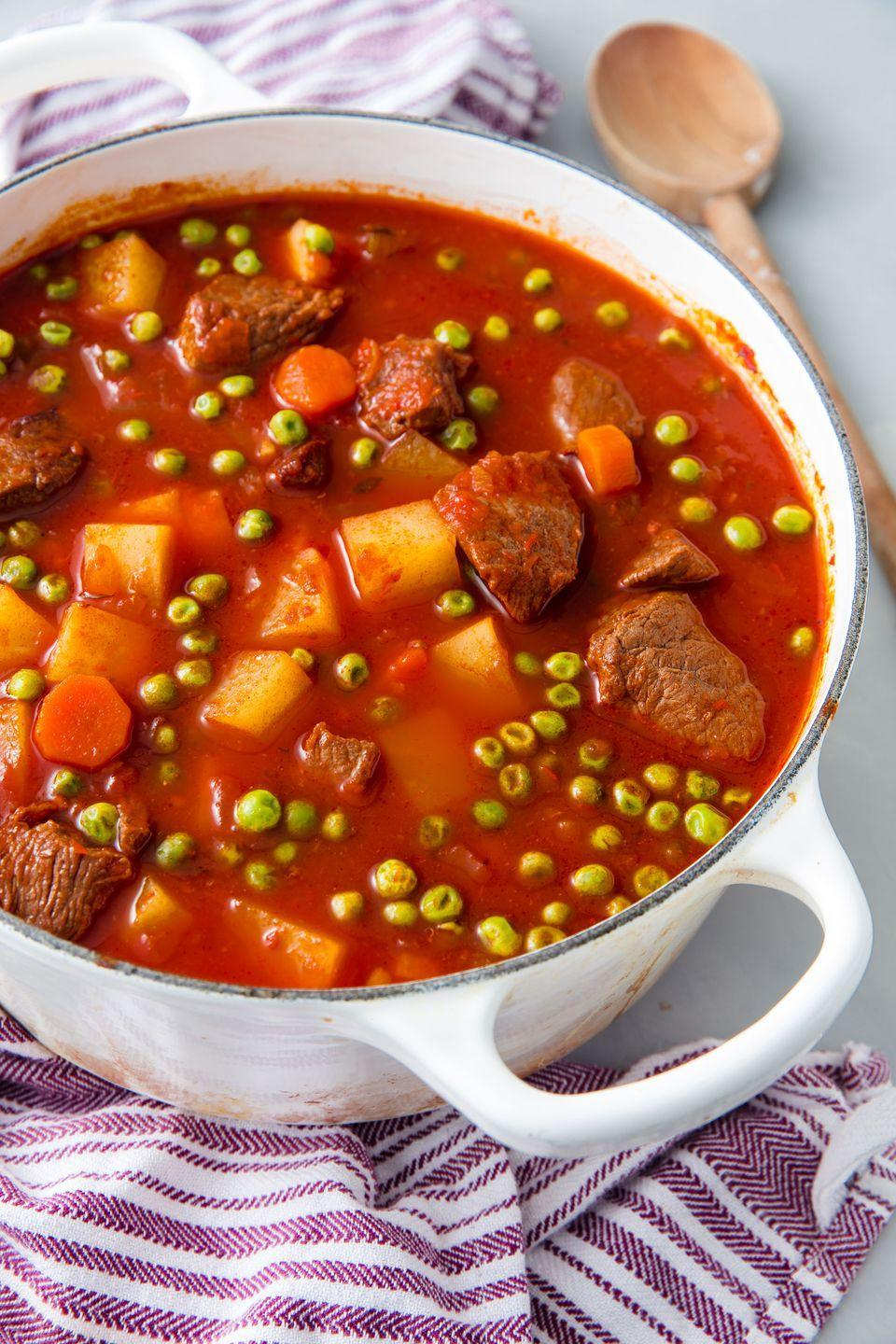 "<p>Full and hearty.</p><p>Get the recipe from <a href=""https://www.delish.com/cooking/recipe-ideas/a21565547/vegetable-beef-stew-recipe/"" rel=""nofollow noopener"" target=""_blank"" data-ylk=""slk:Delish."" class=""link rapid-noclick-resp"">Delish.</a></p><p><a class=""link rapid-noclick-resp"" href=""https://go.redirectingat.com?id=74968X1596630&url=http%3A%2F%2Fwww.booksamillion.com%2Fp%2FDelish%2FEditors-Delish%2F9781328498861%3FAID%3D12534396%26PID%3D7689440%26SID%3D74968X1525073Xd3f4558dac2bf3f14278e5e58fd08bb1&sref=https%3A%2F%2Fwww.delish.com%2Fcooking%2Fg1829%2Fwinter-soup%2F"" rel=""nofollow noopener"" target=""_blank"" data-ylk=""slk:BUY NOW"">BUY NOW</a> <strong><em>Delish cookbook, booksamillion.com</em></strong></p>"