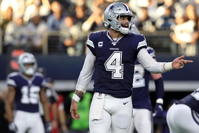 You cannot trust the Cowboys at all but they have the ceiling to win one playoff game. (Photo by Tom Pennington/Getty Images)