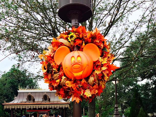 October is a great time to check out the theme parks in Florida. (Miriam Porter)
