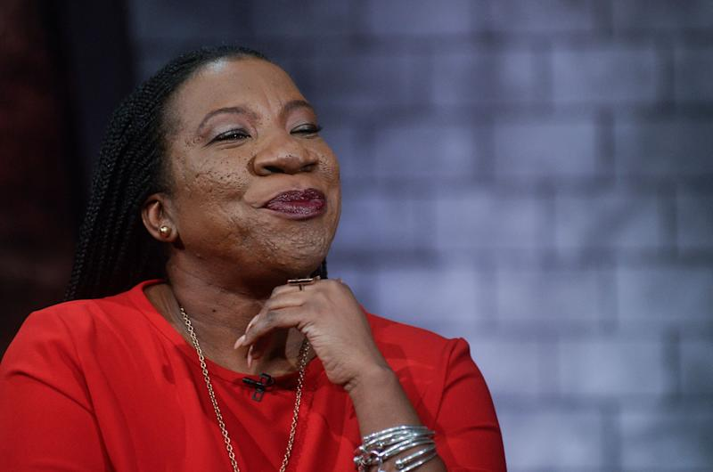 Me Too founder Tarana Burke thinks E! News shouldn't have Ryan Seacrest as part of its Oscars coverage.