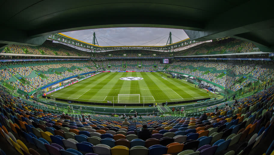 <p><strong>Average attendance: 42,837</strong></p> <p>Stadium capacity: 50,080</p> <p>Occupancy rate: 85.5%</p> <br /><p>The first of two Portuguese teams in the top 25, Sporting Lisbon's participation in the Champions League this season, where they were pipped by Real Madrid and Borussia Dortmund to a place in the knockout stages, probably helped their massive local following. </p>