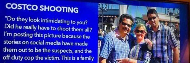Kenneth French and family, Costco shooting