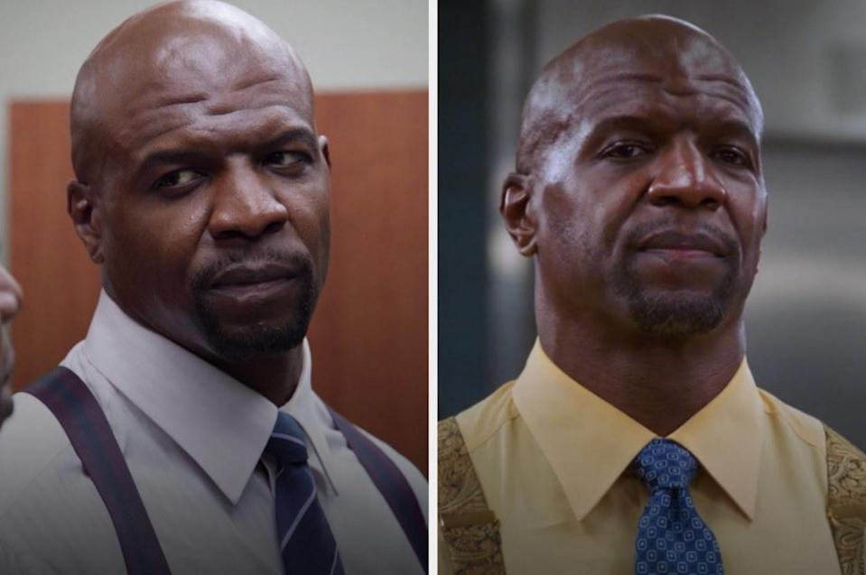 Terry in the first and last episode