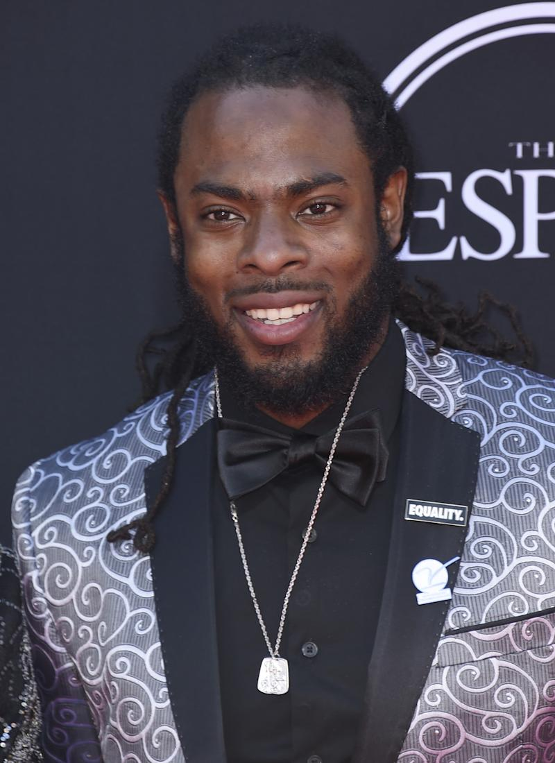 At Wednesday's ESPY Awards, Seattle CB Richard Sherman said NFL players have to be willing to strike for better contracts. (AP)