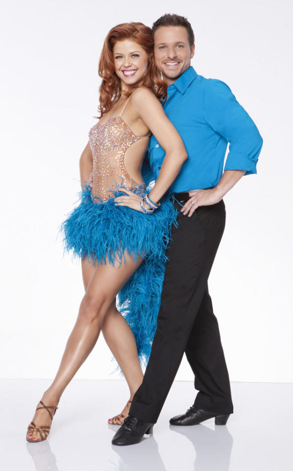 "Drew Lachey will be dancing with Anna Trebunskaya this fall on ABC's ""Dancing With the Stars: All-Stars,"" premiering September 24."