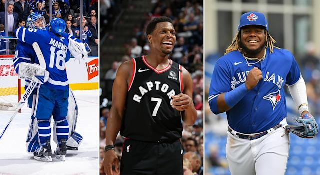 The Maple Leafs, Raptors and Blue Jays are just some of the major Toronto sports teams helping out their event staff financially affected by COVID-19. (Getty Images)