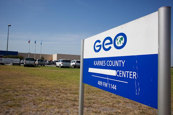 The Karnes County Residential Center has held immigrant families since 2014. (Photo: Drew Anthony Smith via Getty Images)