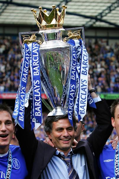 Jose Mourinho won the Premier League in his first two seasons at Chelsea