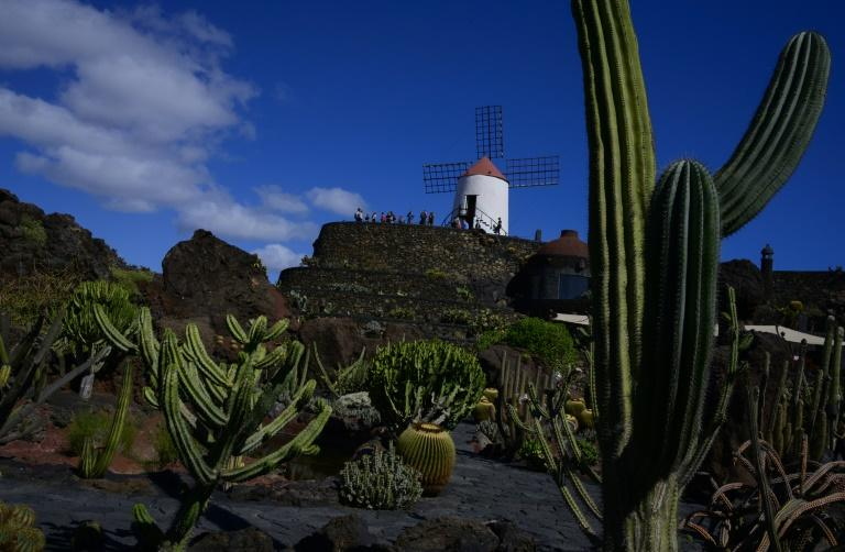After working in New York as a painter and sculptor, Cesar Manrique returned to his native Lanzarote in 1966 where he built a series of original buildings (AFP Photo/PIERRE-PHILIPPE MARCOU)